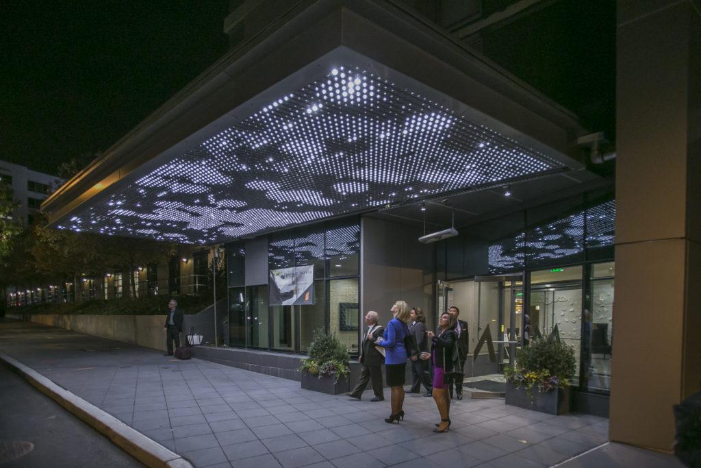 Light Matrix by Leo Villareal 2015 3601 Market St.