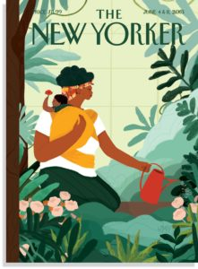 The New Yorker cover illustrated by Loveis Wise.